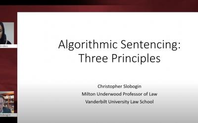 Webinar 'El sistema de justicia penal ante el reto de la Inteligencia Artificial'
